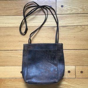 Hobo International Distressed Brown Leather Bag